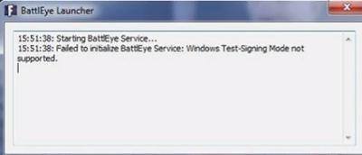 Ошибка сервиса BattlEye «Failed to Initialize BattlEye