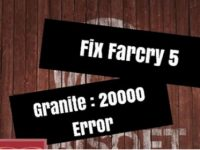 Ошибка: Far Cry 5 Error Granite:2000000